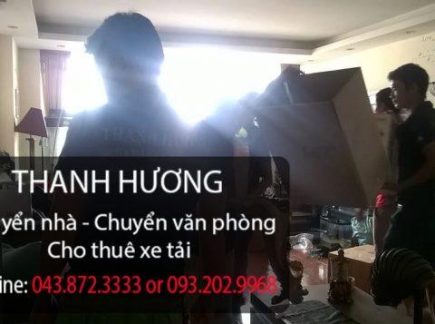 Thanh Hương chuyển văn phòng trọn gói tại phố Trần Quang Diệu