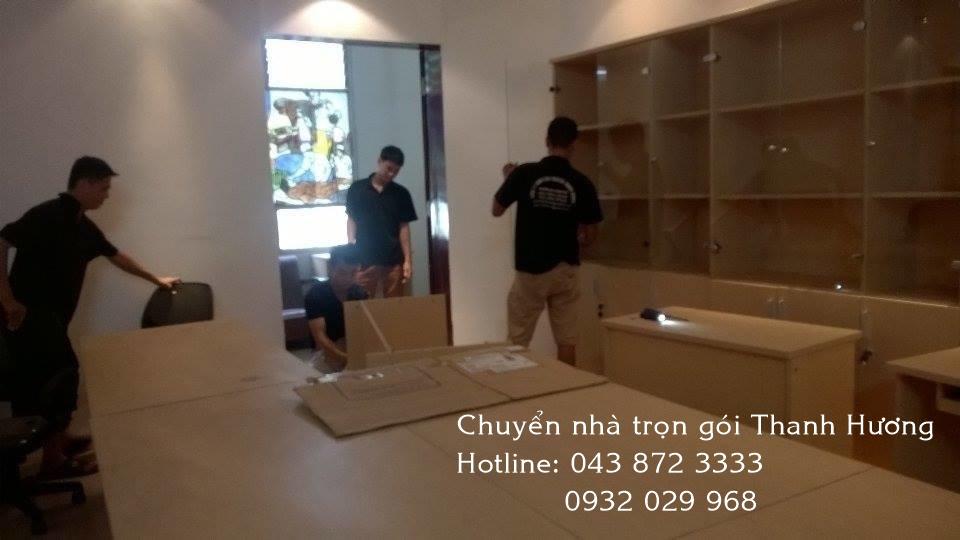 Chuyển văn phòng Thanh Hương tại Hà Nội