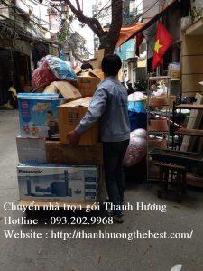 Chuyển nhà chuyên nghiệp tại phố Hoàng Minh Giám