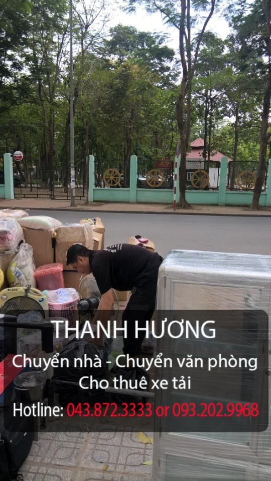 Chuyển văn phòng chuyên nghiệp tại phố Nguyễn Thi Định