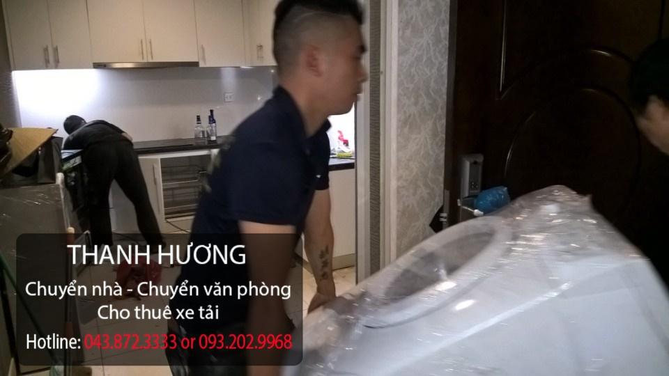 Chuyển văn phòng trọn gói Thanh Hương tại phố Trần Duy Hưng