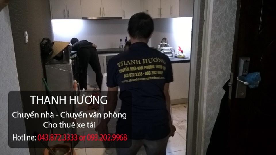 Chuyển văn phòng Hà Nội Thanh Hương tại phố Triệu Việt Vương