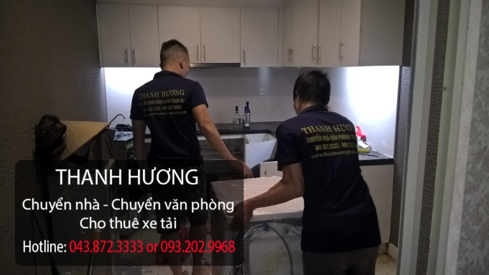 Chuyển văn phòng trọn gói giá rẻ Thanh Hương tại phố Hoàng Đạo Thúy