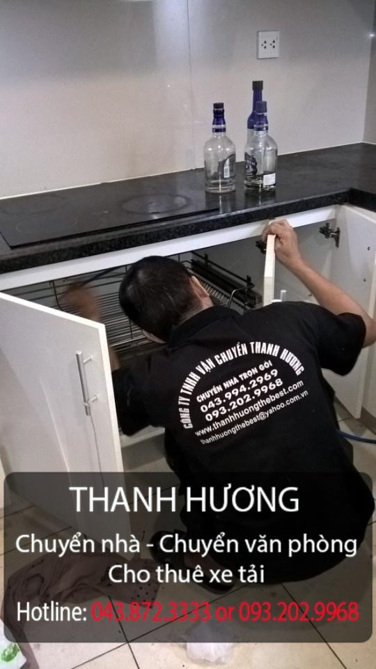 Thanh Hương chuyển văn phòng trọn gói tại phố Trần Duy Hưng