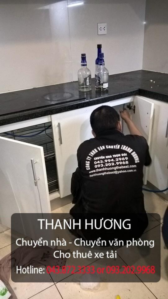 Thanh Hương chuyển văn phòng chuyên nghiệp tại phố Hoàng Đạo Thúy