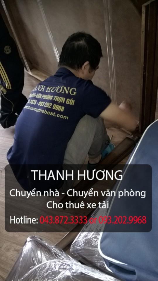 Thanh Hương chuyển văn phòng giá rẻ tại phố Nguyên Hồng