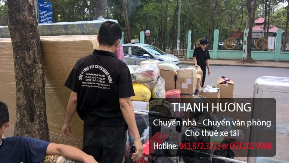 Thanh Hương dịch vụ chuyển văn phòng giá rẻ tại phố Nguyễn Thị Định