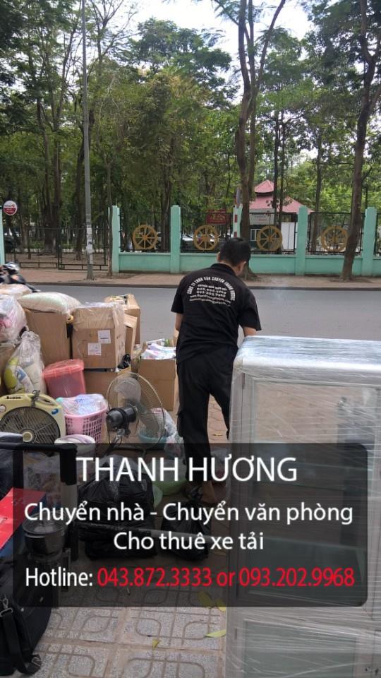 Chuyển văn phòng-chuyển nhà trọn gói tại phố Triệu Việt Vương