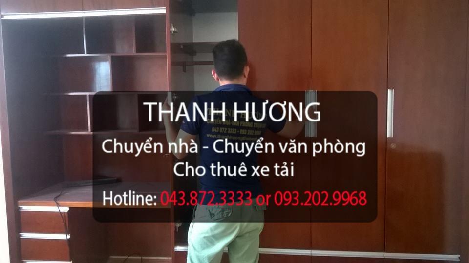 Dịch vụ chuyển văn phòng giá rẻ tại phố Chùa Láng
