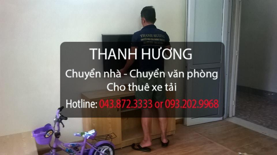 Chuyển văn phòng trọn gói Thanh Hương tại phố Chùa Láng