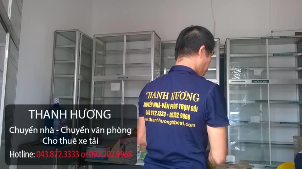 Công ty Thanh Hương cung cấp chuyển văn phòng tại phố Nguyễn Huy Tưởng