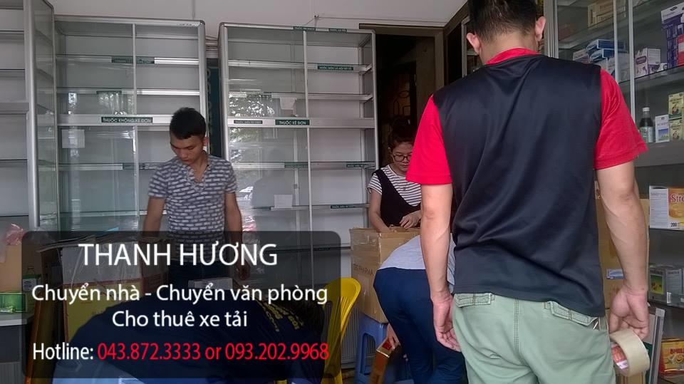 Dịch vụ chuyển văn phòng trọn gói tại phố Huỳnh Thúc Kháng