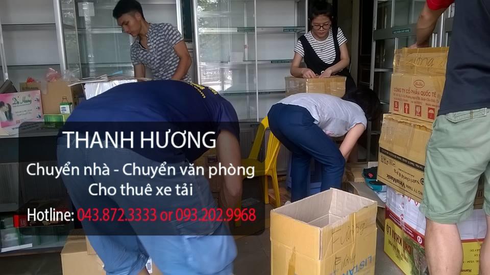 Dịch vụ chuyển văn phòng tại phố Láng Hạ