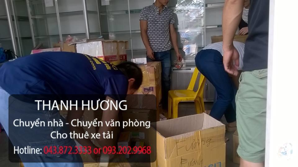Chuyển văn phòng Thanh Hương tại phố Nguyễn Huy Tưởng