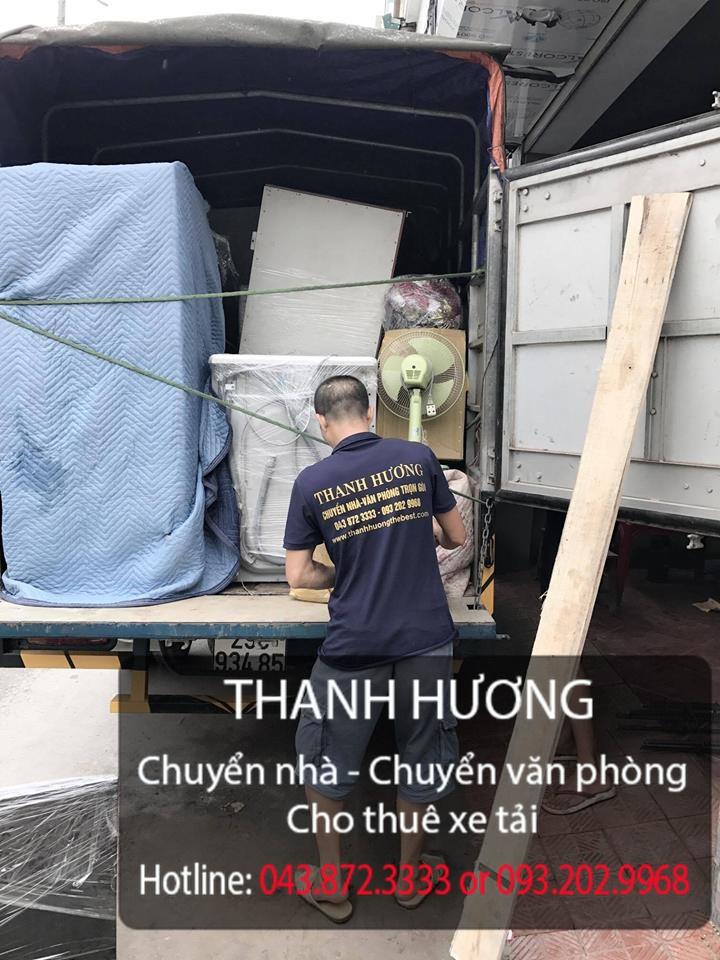 Dịch vụ chuyển văn phòng tại phố Nguyễn Cao Luyện-093.202.9968