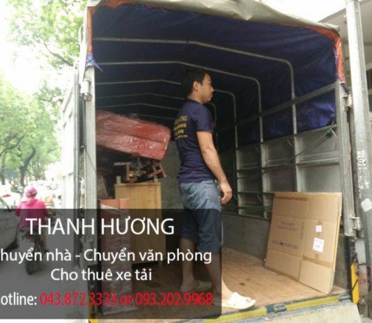 Thanh Hương cung cấp dịch vụ chuyển văn phòng trọn gói tại phố Mai Anh Tuấn