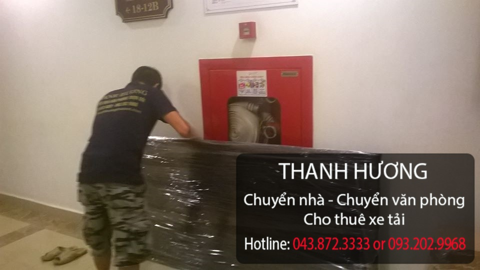 Dịch vụ chuyển văn phòng trọn gói tại phố Mai Anh Tuấn