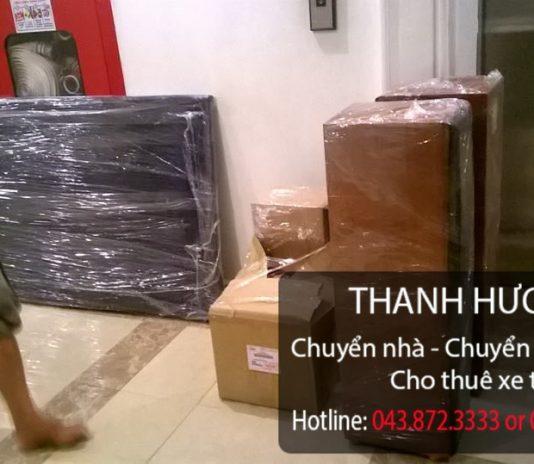 Thanh Hương dịch vụ chuyển văn phòng trọn gói tại phố Thành Công