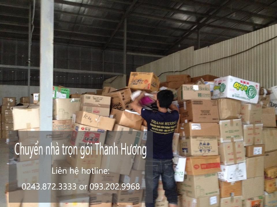 Dịch vụ chuyển văn phòng tại phố Trần Thủ Độ