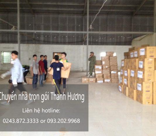 Dịch vụ chuyển văn phòng giá rẻ Thanh Hương tại phố Nam Cao