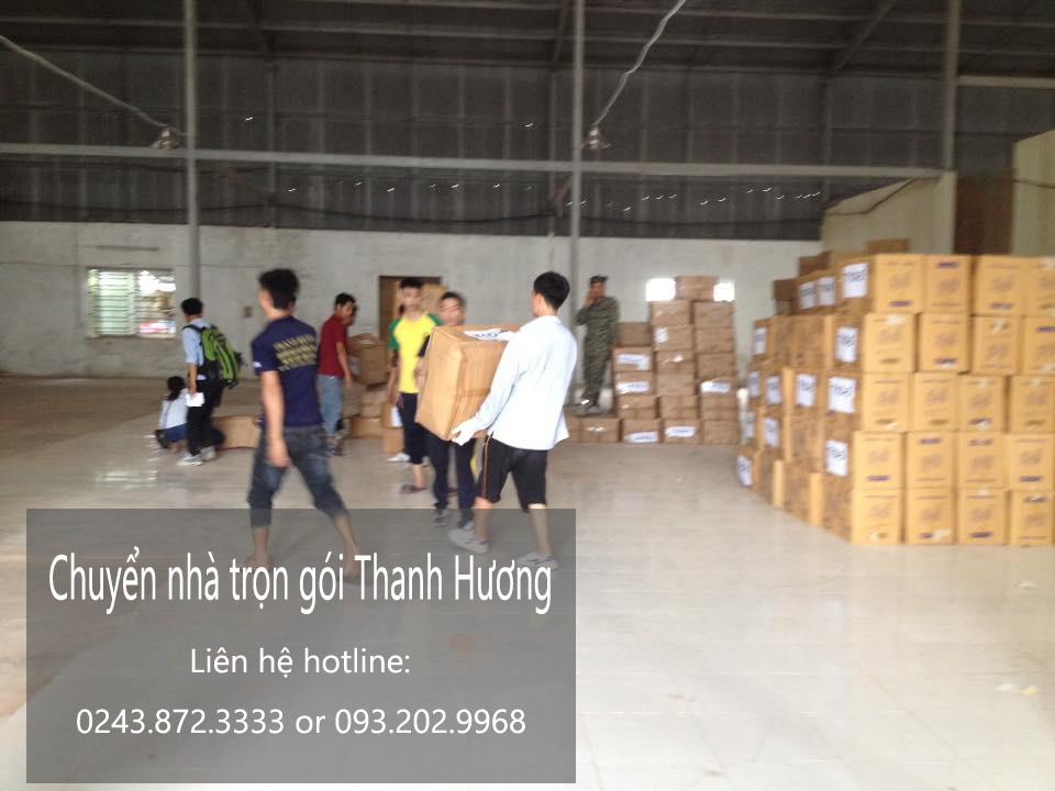 Dịch vụ chuyển văn phòng Hà Nội tại phố Tân Thụy
