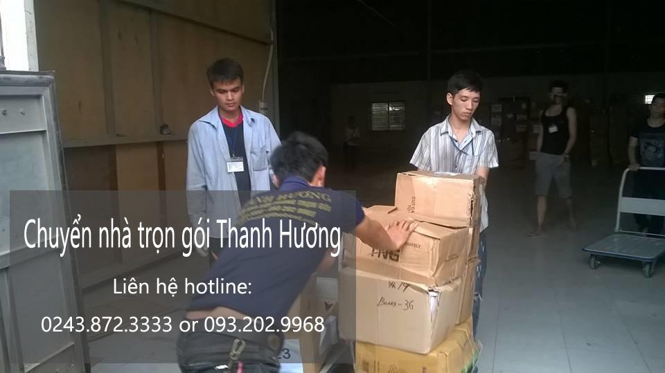 Dịch vụ chuyển văn phòng trọn gói tại phố Phương Mai