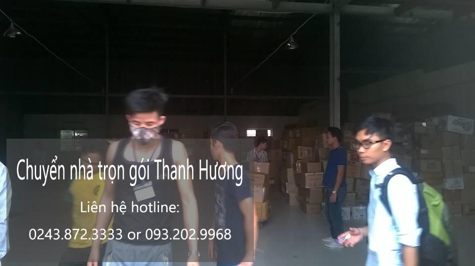 Dịch vụ chuyển văn phòng Hà Nội tại phố Lý Nam Đế