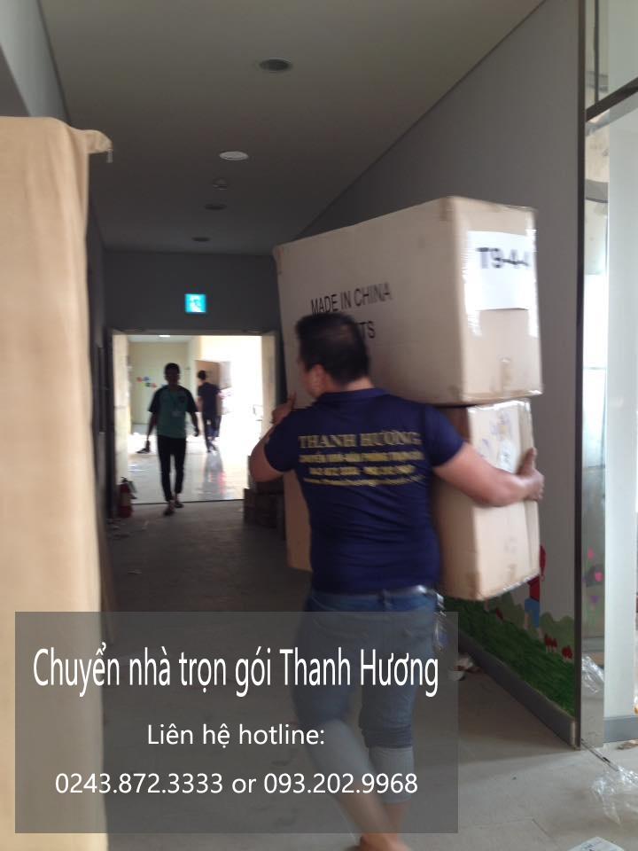 Dịch vụ chuyển văn phòng Hà Nội tại phố Vĩnh Hồ