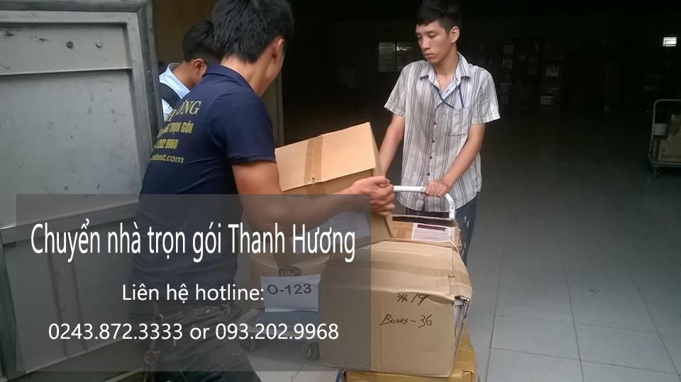 Chuyển văn phòng Hà Nội tại phố Nguyễn Công Trứ