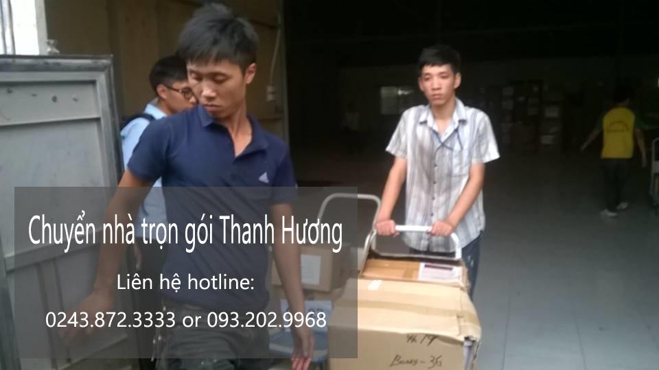 Dịch vụ chuyển văn phòng trọn gói tại phố Phú Thượng