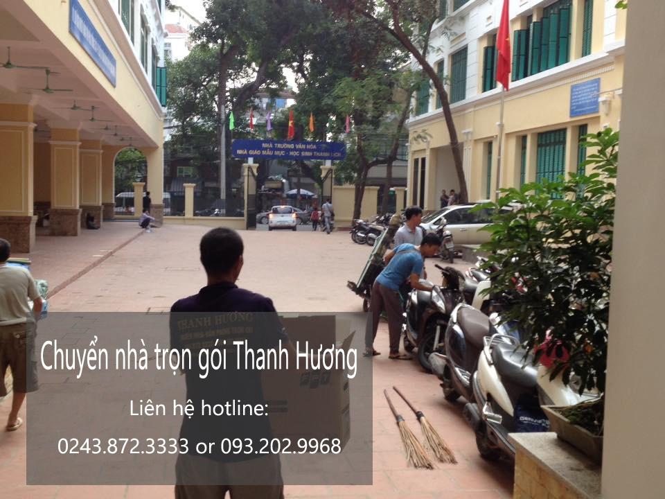 Dịch vụ chuyển văn phòng Hà Nội tại phố Phó Đức Chính