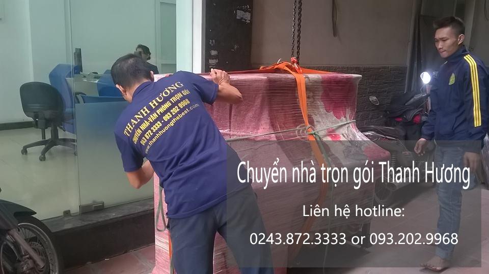 Chuyển văn phòng trọn gói tại phố Thượng Thanh