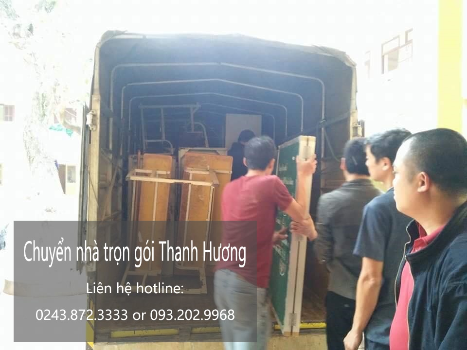 Chuyển văn phòng Hà Nội tại phố Trần Duy Hưng