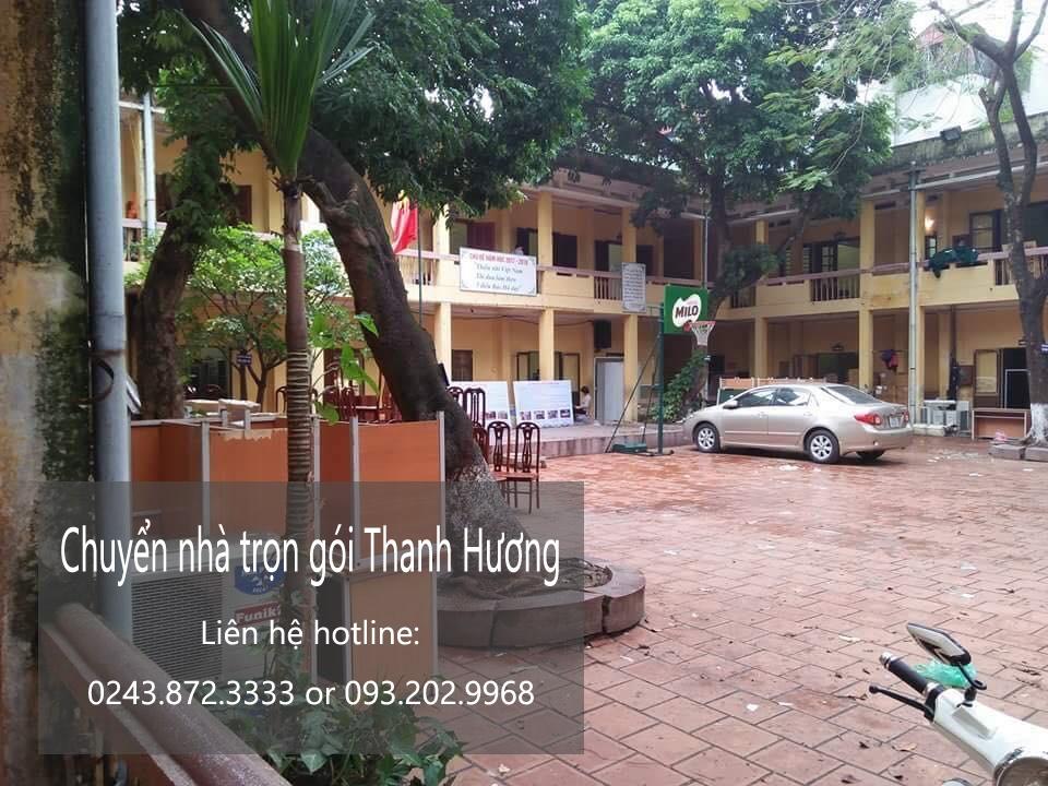 Chuyển văn phòng Hà Nội tại phố Trung Kính