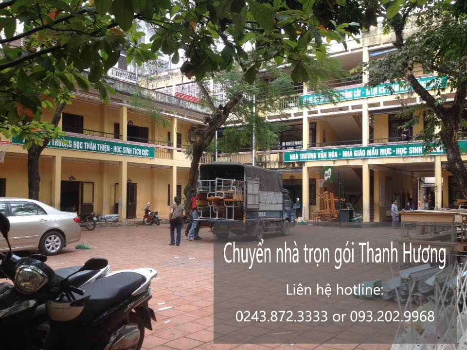 Chuyển văn phòng trọn gói tại phố Yên Nội