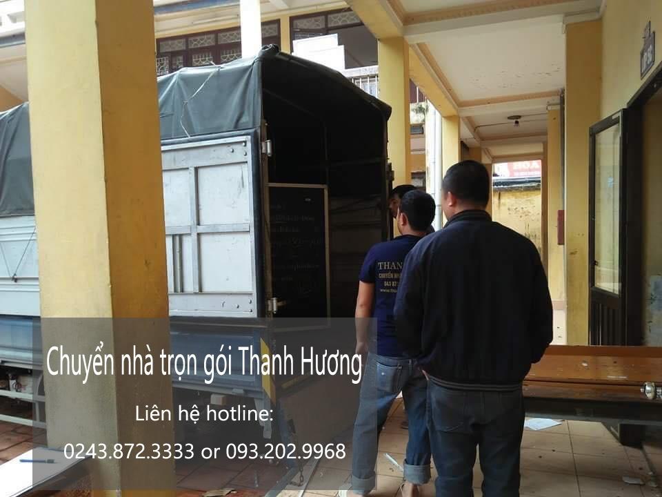 Chuyển văn phòng Hà Nội tại phố Trung Hòa
