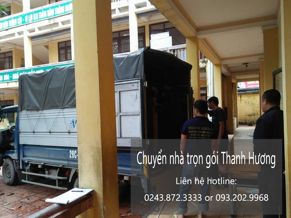Dịch vụ chuyển văn phòng tại phố Ngọc Khánh
