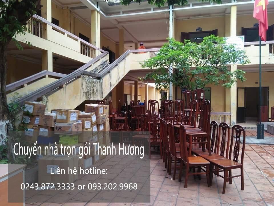 Chuyển văn phòng Hà Nội tại phố Lương Thế Vinh