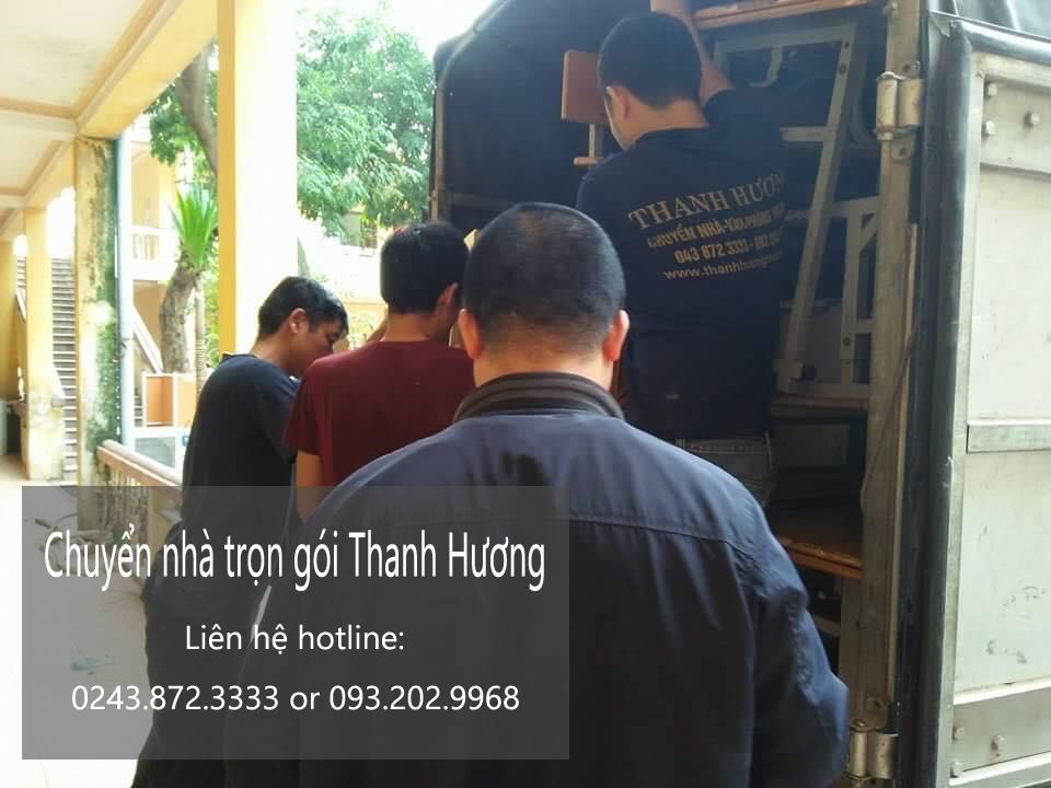 Chuyển văn phòng Hà Nội tại phố Ngô Minh Dương