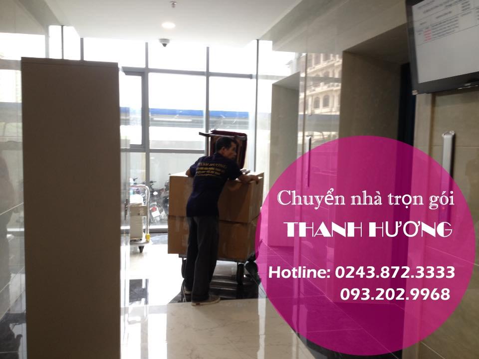 Chuyển văn phòng Hà Nội tại phố Vũ Hữu
