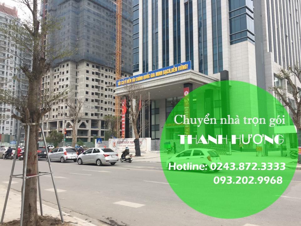 Chuyển văn phòng Hà Nội tại phố Trần Quang Diệu