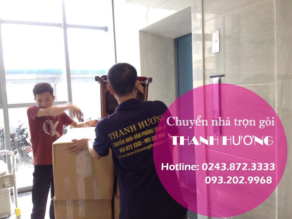 Chuyển văn phòng Hà Nội tại phố Nguyễn Du