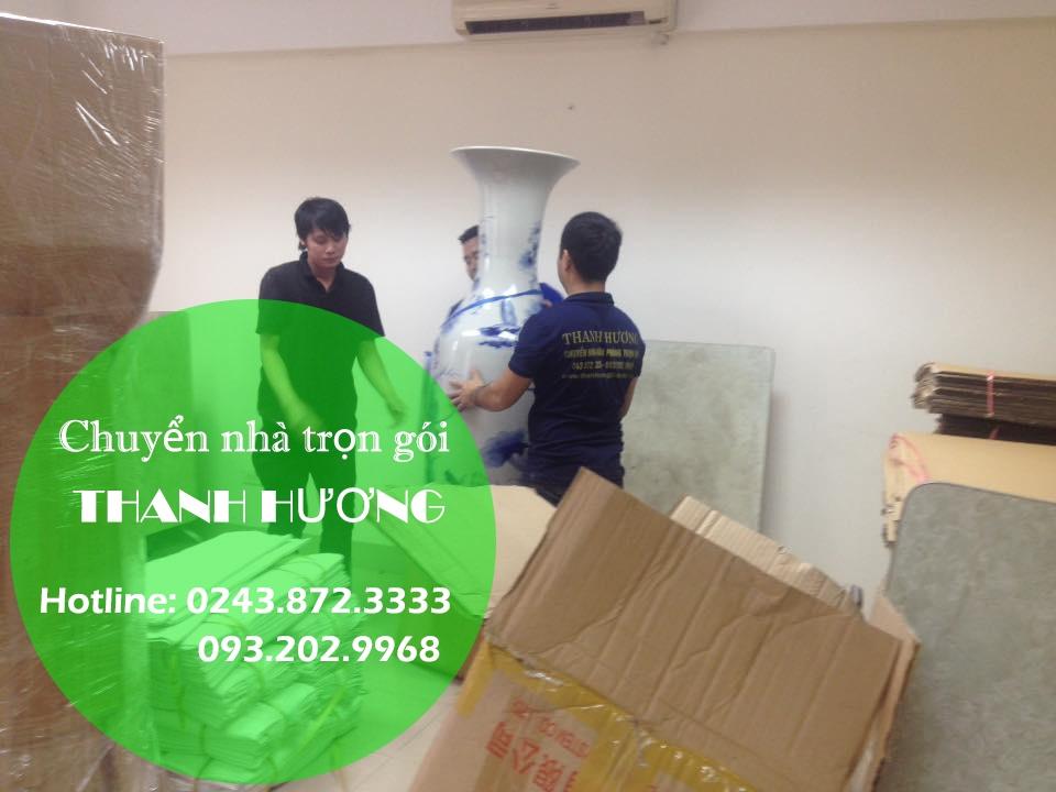 Dịch vụ chuyển văn phòng Hà Nội tại phố Võ Chí Công