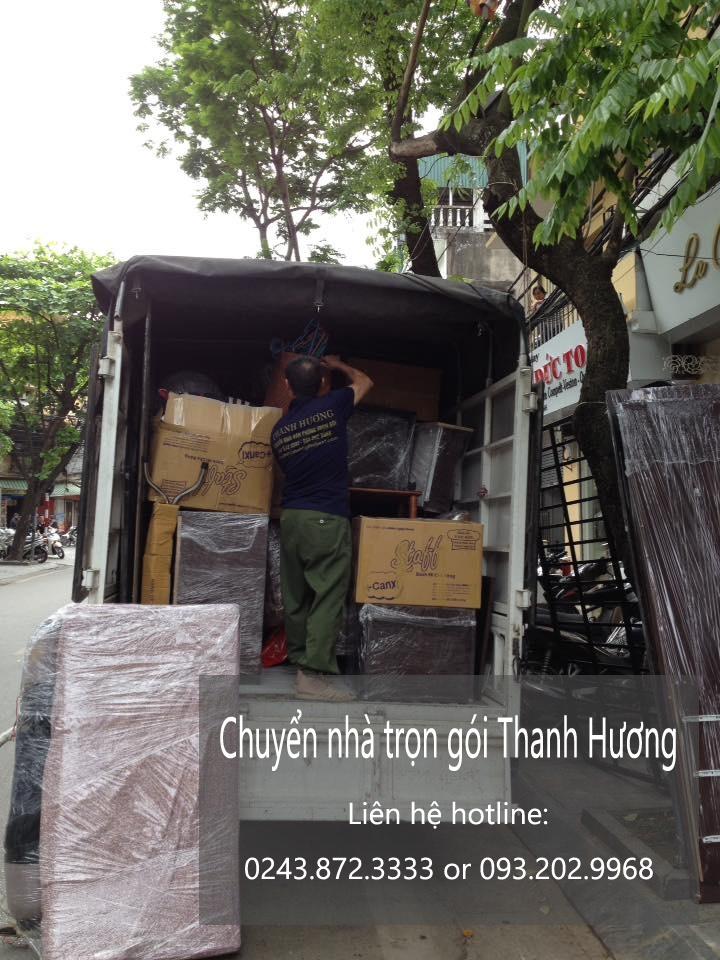 Chuyển văn phòng Hà Nội tại phố Kim Đồng