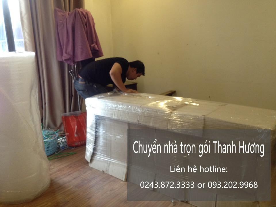 Dịch vụ chuyển văn phòng Thanh Hương tại phố Khương Thượng