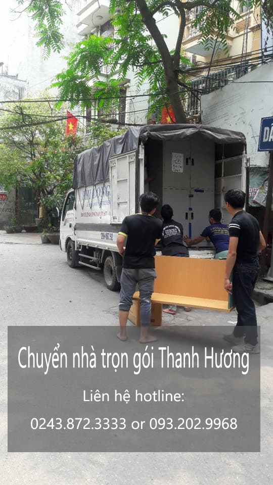 Dịch vụ chuyển văn phòng Thanh Hương tại phố Trung Văn