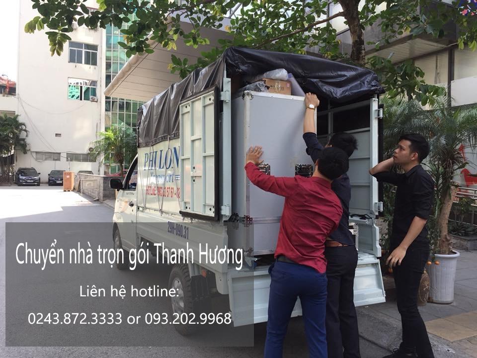 Dịch vụ chuyển văn phòng Thanh Hương tại phố Dương Đình Nghệ