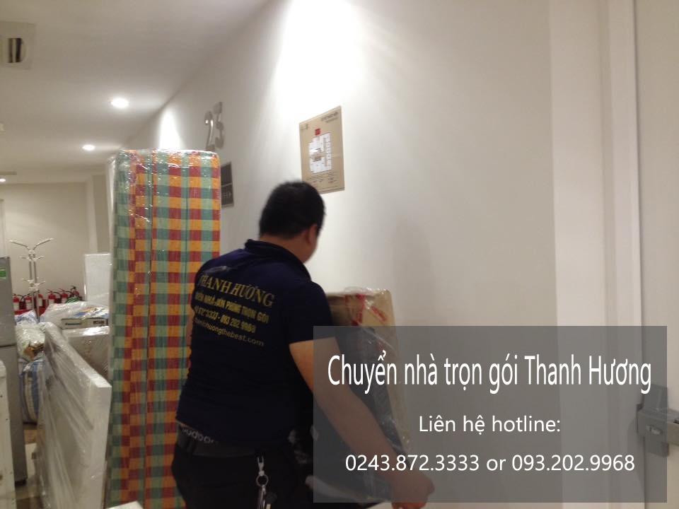 Dịch vụ chuyển văn phòng Thanh Hương tại phố Đồng Bông