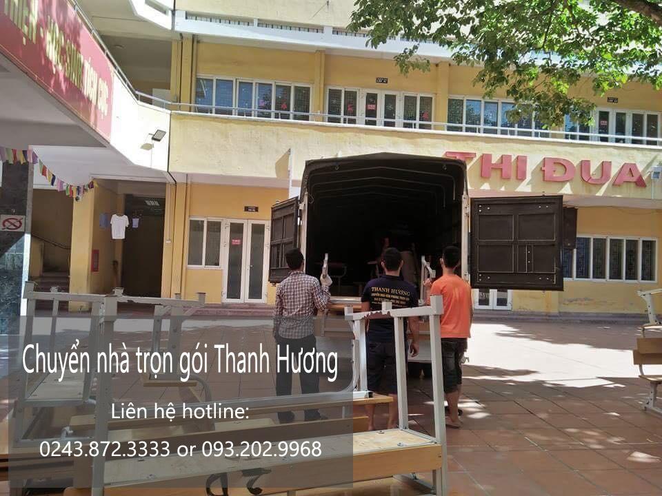 Chuyển văn phòng Hà Nội tại phố Hùng Vương