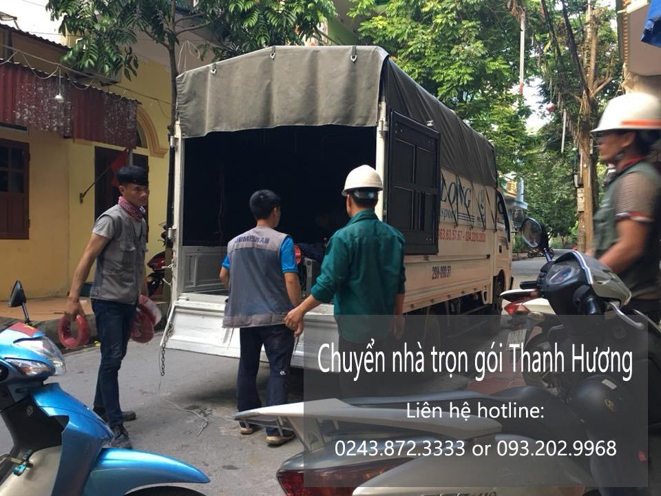 Chuyển văn phòng Hà Nội tại phố Phan Văn Đáng